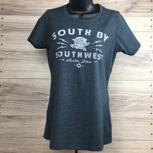 South by Southwest Austin Texas short sleeve top